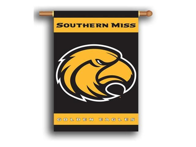 Bsi Products 96065 2-Sided 28'' X 40'' Banner W/ Pole Sleeve - Southern Miss Golden Eagles