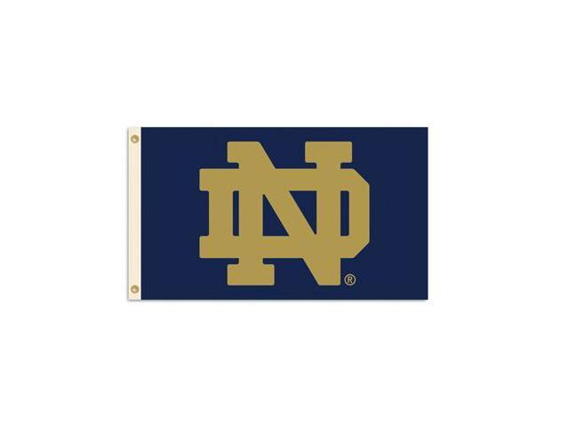 BSI PRODUCTS 95536 3 Ft. X 5 Ft. Flag with Grommets- Notre Dame
