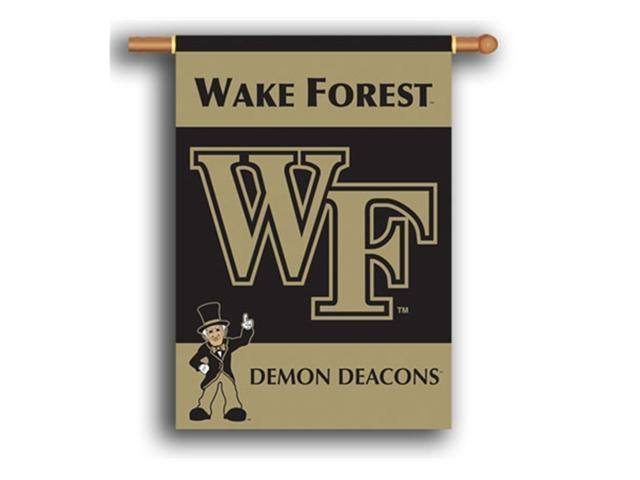 Bsi Products 96067 2-Sided 28'' X 40'' Banner W/ Pole Sleeve - Wake Forest