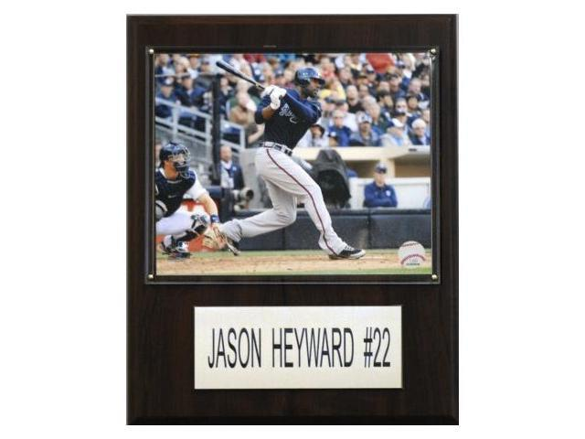 C & I Collectables 1215HEYWAR MLB Jason Heyward Atlanta Braves Player Plaque