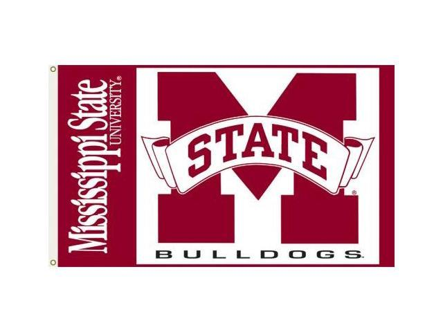 Bsi Products 95021 3 Ft. X 5 Ft. Flag W/Grommets - Mississippi State Bulldogs