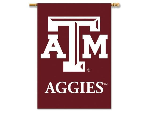 Bsi Products 96130 2-Sided 28'' X 40'' Banner W/ Pole Sleeve - Texas A&M Aggies