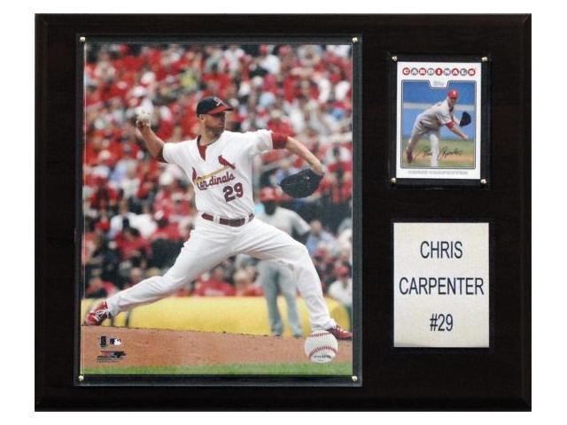 C & I Collectables 1215CARPEN MLB Chris Carpenter St. Louis Cardinals Player Plaque