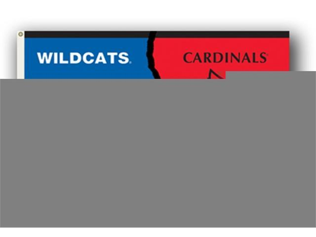 Bsi Products 95321 3 Ft. X 5 Ft. Flag W/Grommets - Rivalry House Divided - Kentucky - Louisville