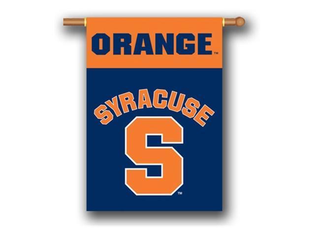 Bsi Products 96148 2-Sided 28'' X 40'' Banner W/ Pole Sleeve - Syracuse Orange