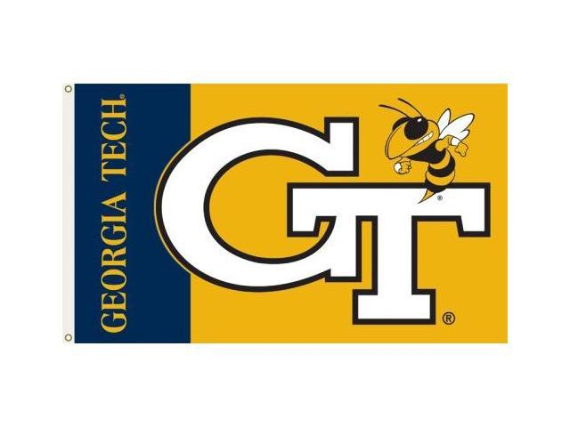 Bsi Products 95049 3 Ft. X 5 Ft. Flag W/Grommets - Georgia Tech Yellow Jackets
