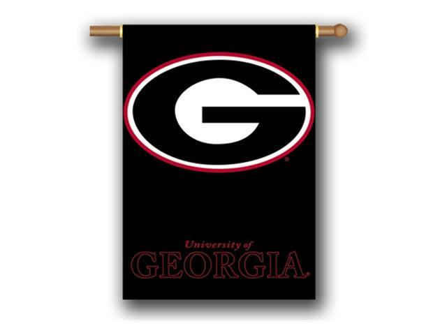 Bsi Products 96307 2-Sided 28'' X 40'' Banner W/ Pole Sleeve - Georgia Bulldogs