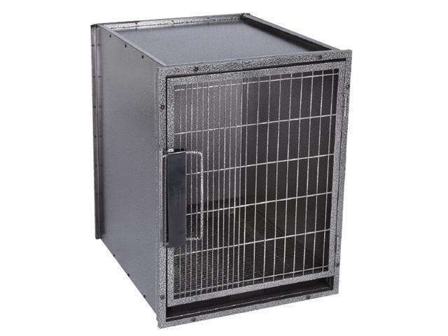 Pet Pals ZW5202 24 17 ProSelect Modular Kennel Cage Sm Graphite