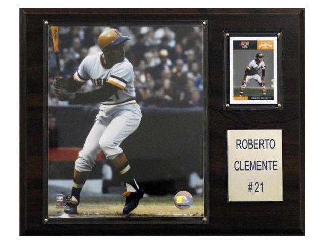 C & I Collectables 1215CLEME MLB Roberto Clemente Pittsburgh Pirates Player Plaque