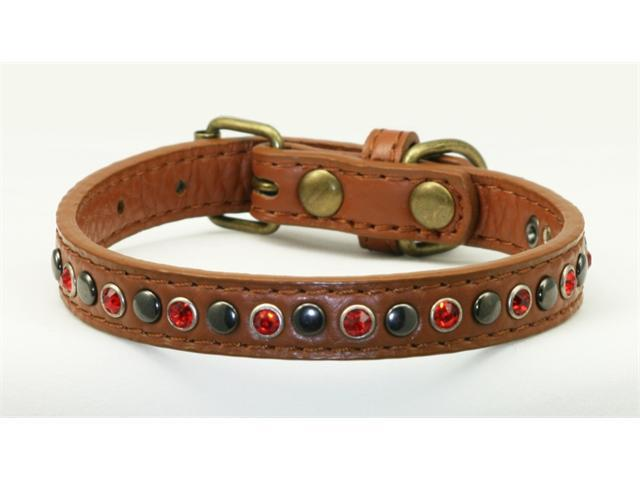 Hip Doggie HD-4RWC-XS Extra Small Red Winston Collar