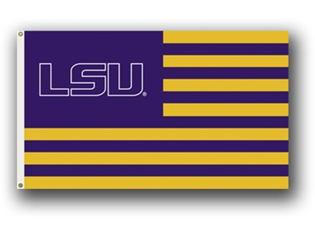 Bsi Products 95115 3 Ft. X 5 Ft. Flag W/Grommets - Louisiana State Tigers