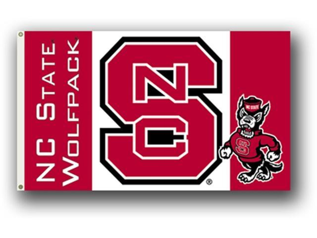 Bsi Products 95117 3 Ft. X 5 Ft. Flag W/Grommets - N. Carolina State Wolfpack