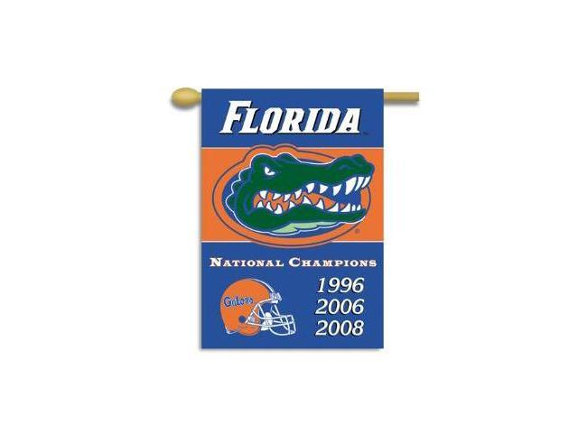 Bsi Products 96309 Champ Years 2-Sided 28'' X 40'' Banner W/ Pole Sleeve - Florida Gators