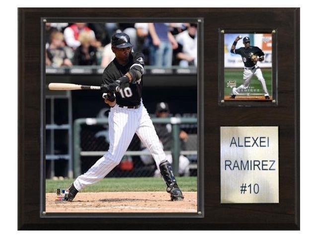 C & I Collectables 1215ALEXEIR MLB Alexei Ramirez Chicago White Sox Player Plaque