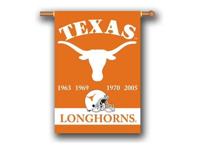 Bsi Products 96234 Champ Years 2-Sided 28'' X 40'' Banner W/ Pole Sleeve - Texas Longhorns