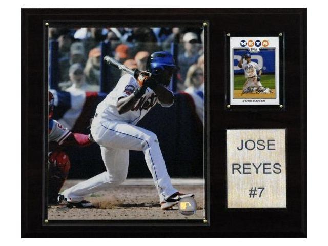 C & I Collectables 1215JREYES MLB Jose Reyes New York Mets Player Plaque