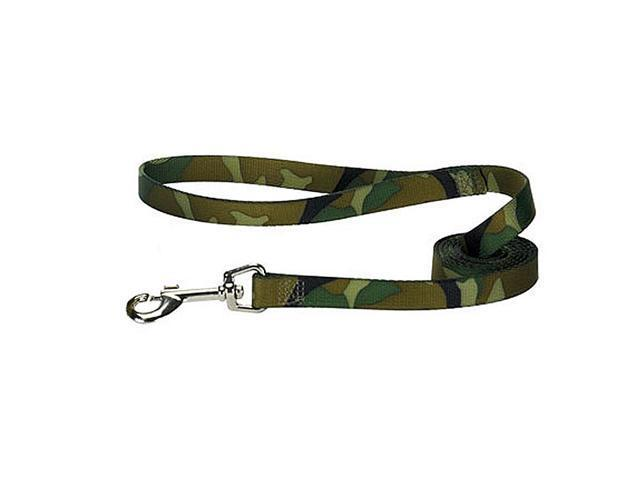 Pet Pals ZA675 66 43 Guardian Gear Camo Lead 6 Ft x 1 In Green