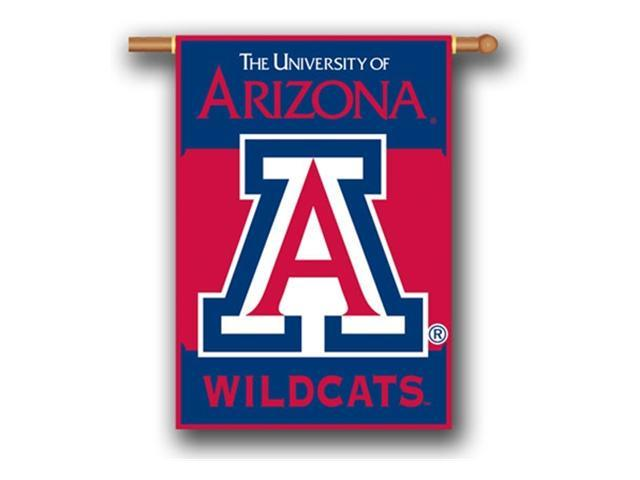 Bsi Products 96013 2-Sided 28'' X 40'' Banner W/ Pole Sleeve - Arizona Wildcats