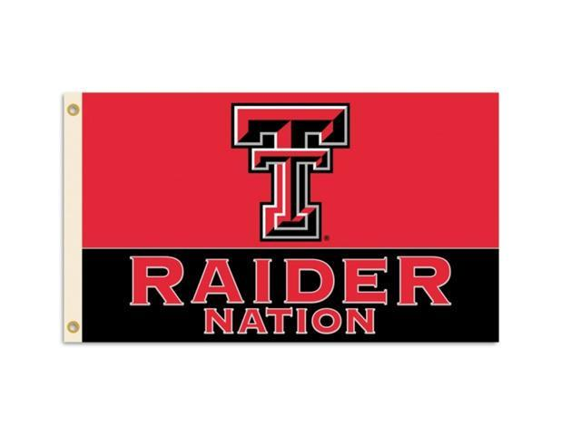 BSI Products 95527 Texas Tech Red Raiders- 3 ft. X 5 ft. Flag W-Grommets