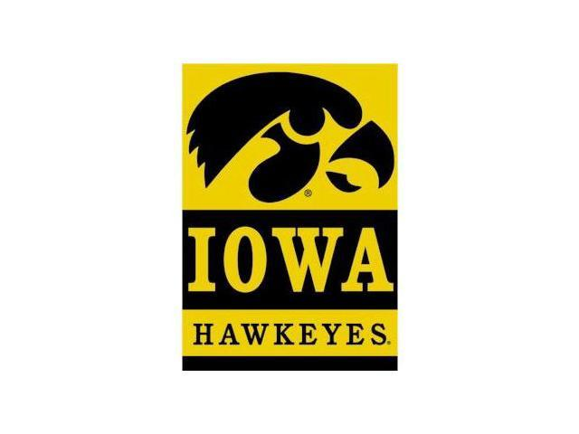 Bsi Products 96024 2-Sided 28'' X 40'' Banner W/ Pole Sleeve - Iowa Hawkeyes