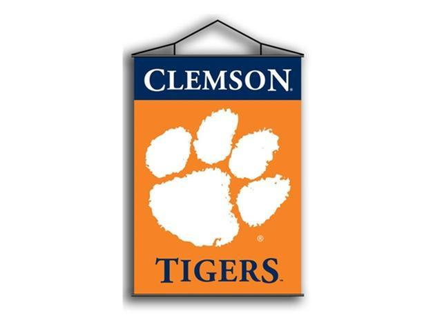 Bsi Products 87025 Indoor Banner Scroll - Clemson Tigers