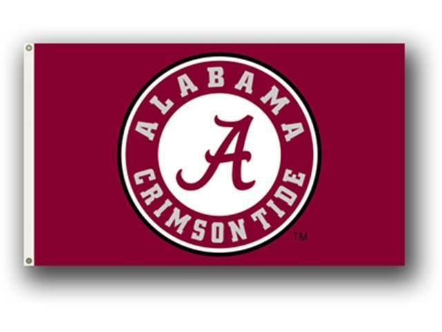 Bsi Products 95602 3 Ft. X 5 Ft. Flag W/Grommets - Alabama Crimson Tide