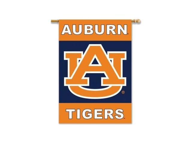 BSI Products 96145 Auburn Tigers- 2-Sided 28 in. X 40 in. Banner with Pole Sleeve