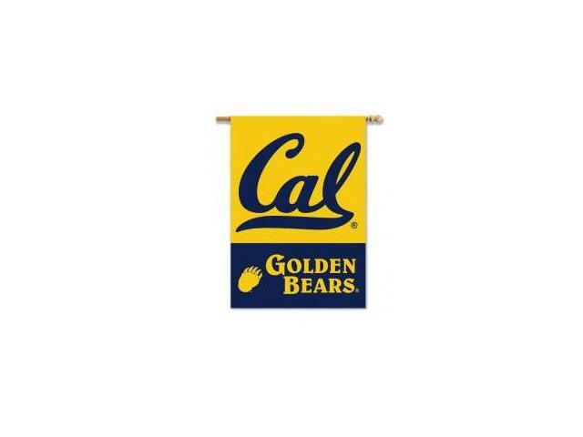 BSI Products 96156 Cal Berkeley Golden Bears- 2-Sided 28 in. X 40 in. Banner with Pole Sleeve
