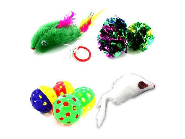 Cat toy assortment - Pack of 96