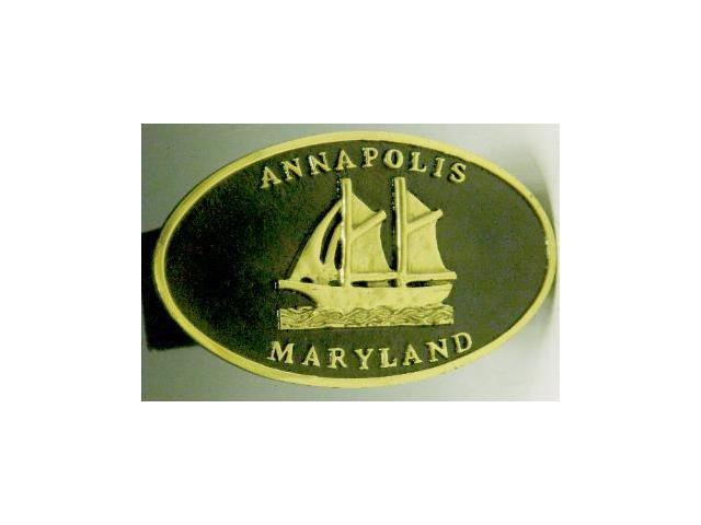 Mayer Mill Brass - HTC-MD - Annapolis - Md Trailer Hitch Cover
