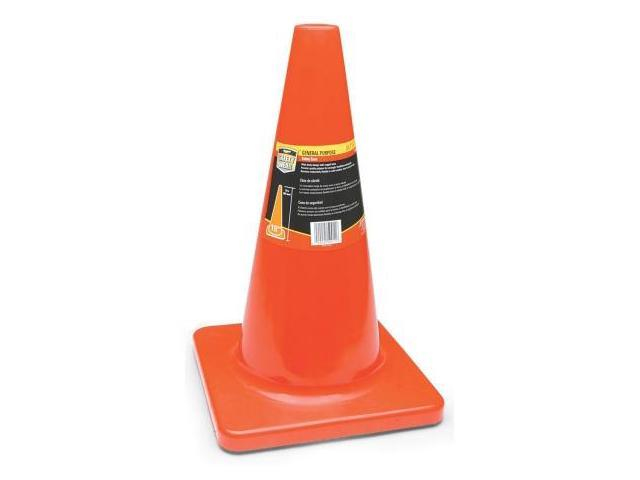 Sperian Protection Americas 18in. Bright Orange Safety Cone  RWS-50011