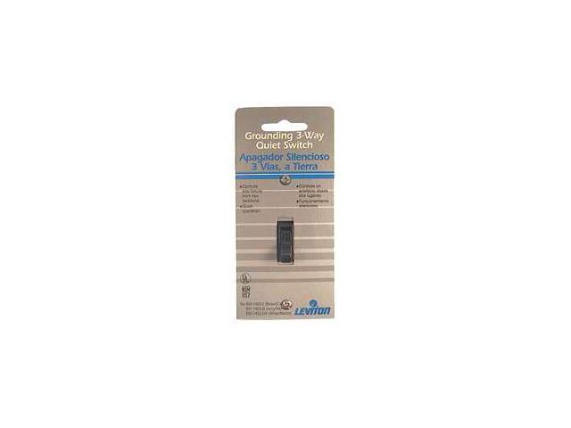 Leviton Brown Residential Grade 3-Way AC Quiet Switches Toggle  215-1453-2