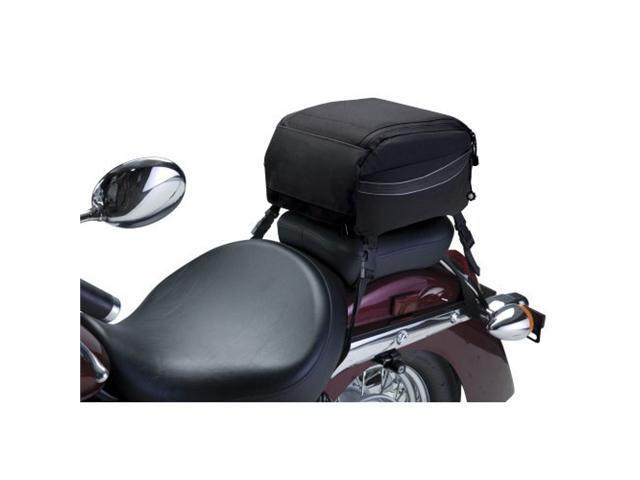 Classic Accessories 73727 MotoGear Motorcycle Tail Bag - Black