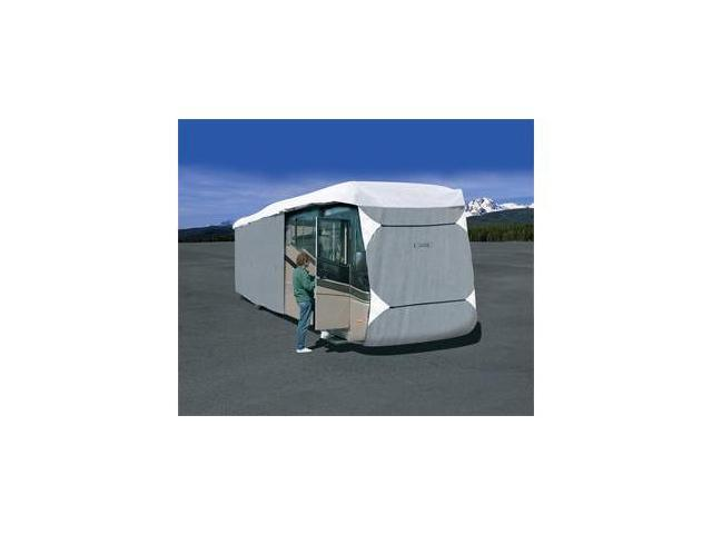 Classic Accessories 77763 PolyPro III Deluxe Extra Tall Class A RV Cover - Grey - Model 7