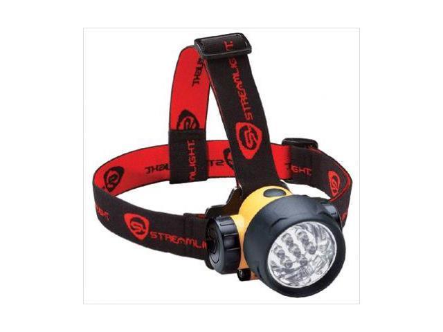 Streamlight 683-61052 Septor Led Headlamp Withrubber & Elastic Straps