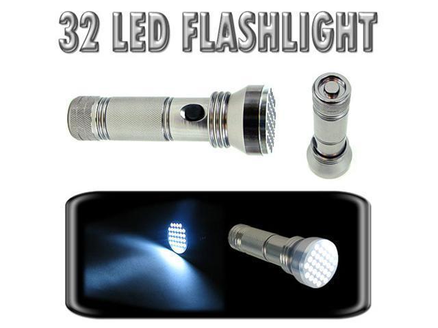 High-Intensity 32 Bulb LED Flashlight