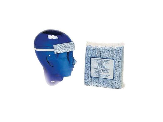 North Safety 068-SB470 Safety Cap Terry Cloth Sweat Band W-Velcro Close