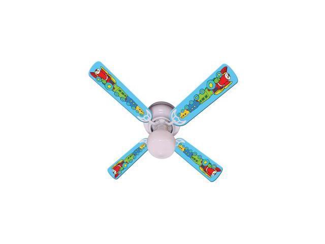 Ceiling Fan Designers 42FAN-IMA-KTCC Kids Train Choo Choo Ceiling Fan 42 In.
