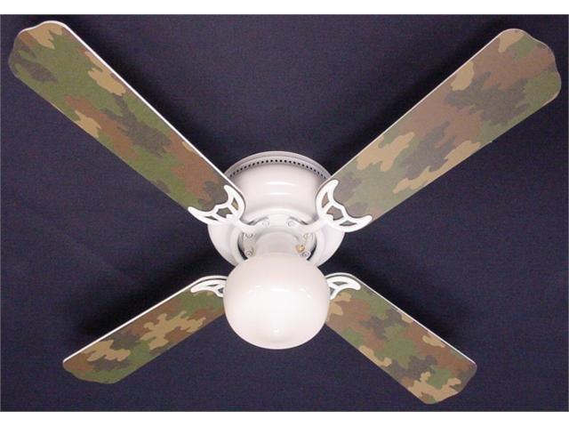 Ceiling Fan Designers 42FAN-KIDS-CAMOG Camoflauge Green Ceiling Fan 42 in.