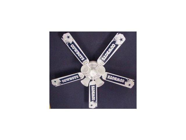 Ceiling Fan Designers 52FAN-NFL-DAL NFL Dallas Cowboys Football Ceiling Fan 52 In.