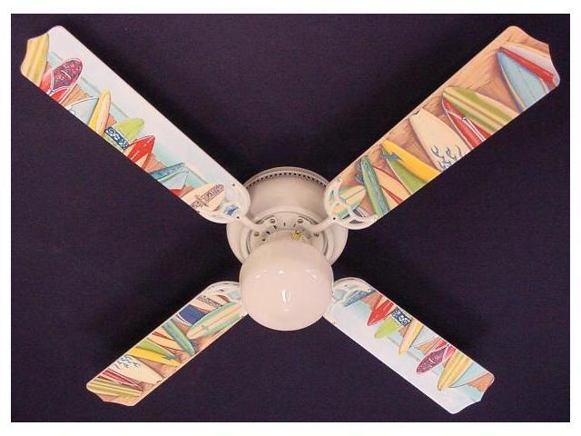 Ceiling Fan Designers 42FAN-KIDS-HSSB Hawaiian Surfboards Ceiling Fan 42 in.