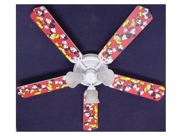 Ceiling Fan Designers 52FAN-DIS-DMM Disney Mickey Mouse no.1 Ceiling Fan 52 in.