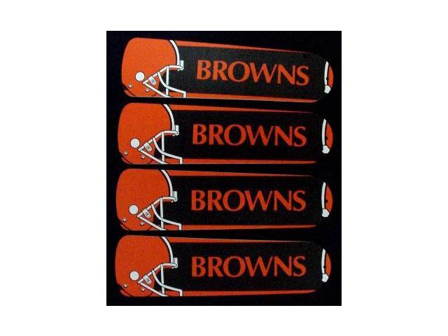 Ceiling Fan Designers 42SET-NFL-CLE NFL Cleveland Browns 42 In. Ceiling Fan Blades Only