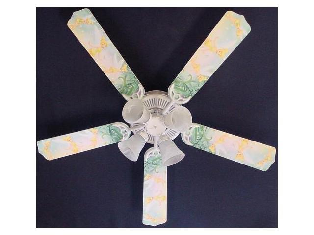 Ceiling Fan Designers 52FAN-DIS-TPF Tinkerbell Fairy Green Ceiling Fan 52 in.