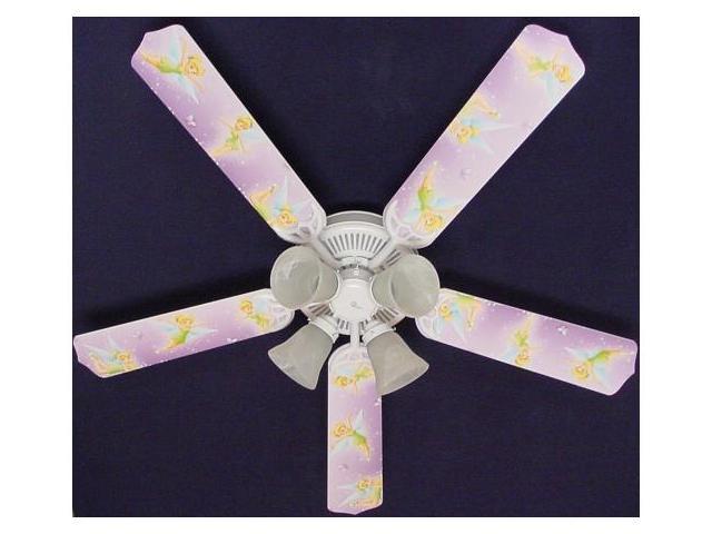 Ceiling Fan Designers 52FAN-DIS-TPFP Tinkerbell Fairy Purple Ceiling Fan 52 in.