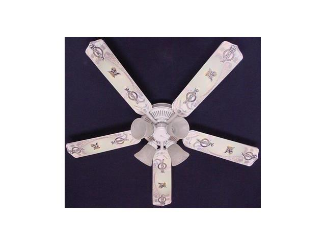 Ceiling Fan Designers 52FAN MLB MIL MLB Milwaukee Brewers