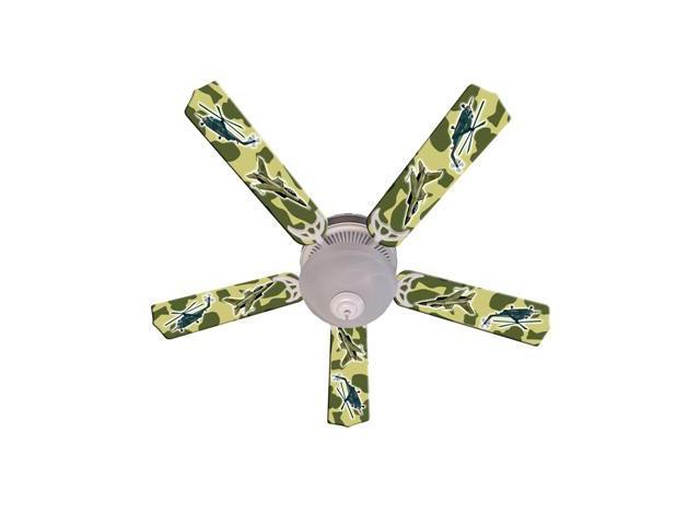Ceiling Fan Designers 52FAN-IMA-AMAF Freedom Camo Military Ceiling Fan 52 In.