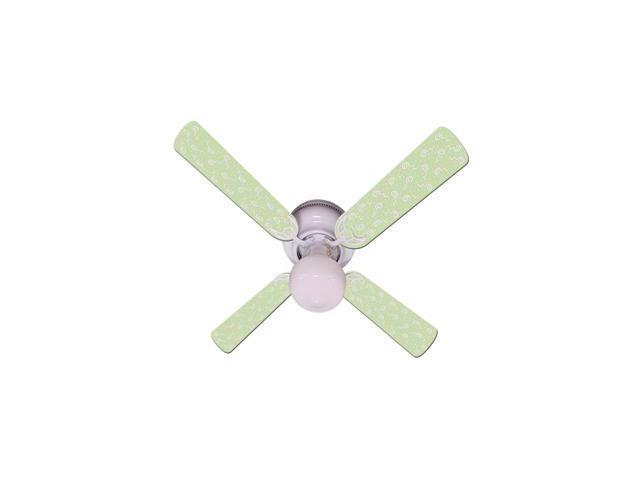 Ceiling Fan Designers 42FAN-IMA-KGPP Kids Green Party Pops Ceiling Fan 42 In.