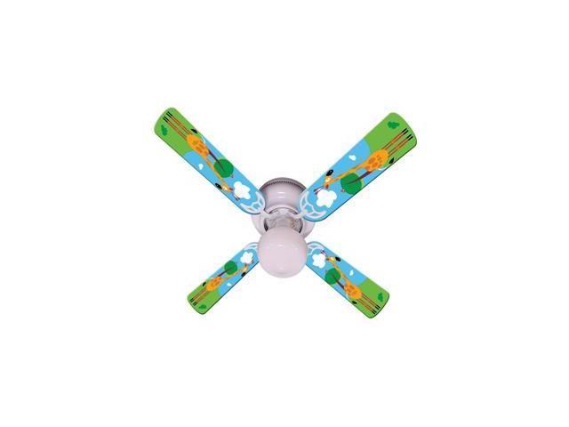 Ceiling Fan Designers 42FAN-IMA-KHTG Kids Hangin Tall Giraffe Ceiling Fan 42 In.