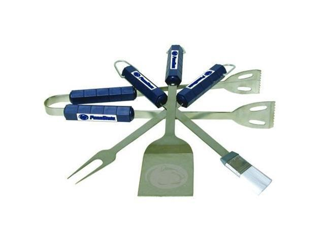 Bsi Products 61006 4 Pc Bbq Set - Penn State Nittany Lions